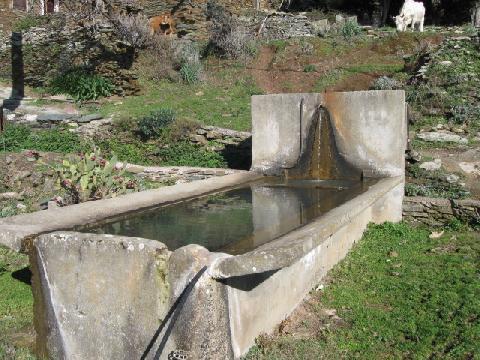 Bassin à Solaru