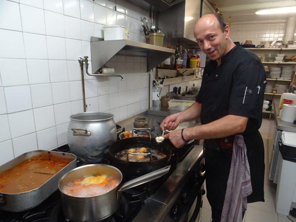 """Ange Granini, Restaurant """"Au bon clocher"""""""