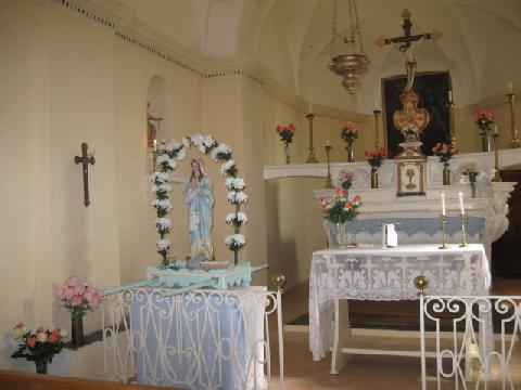Intérieur - Chapelle de l'Annonciation