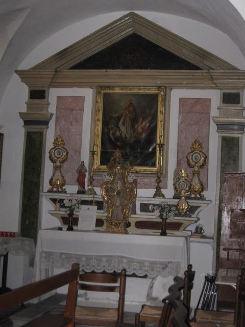 Intérieur - Chapelle St-Thomas et St-Erasme