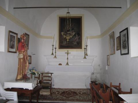 Intérieur - Chapelle St-Roch