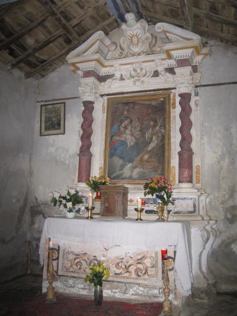 Intérieur - Chapelle Ste-Catherine