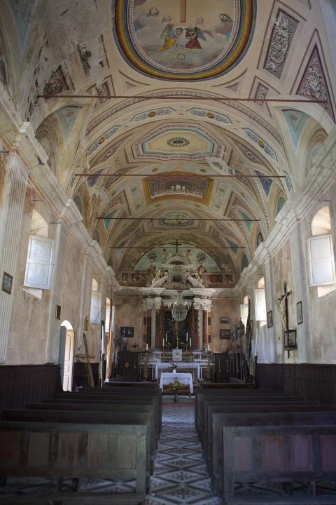 Intérieur Eglise Sainte-Croix